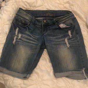 Almost famous vintage look jean shorts
